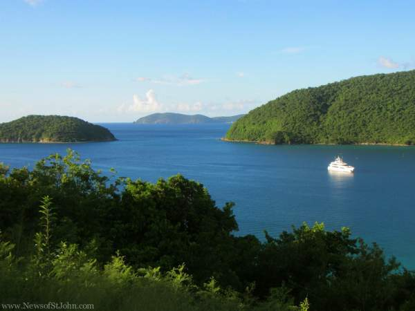 Maho Bay overlook
