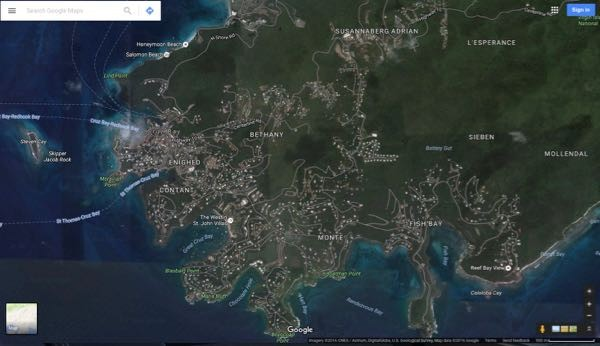 Satellite View Google Map
