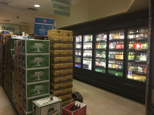 beer section