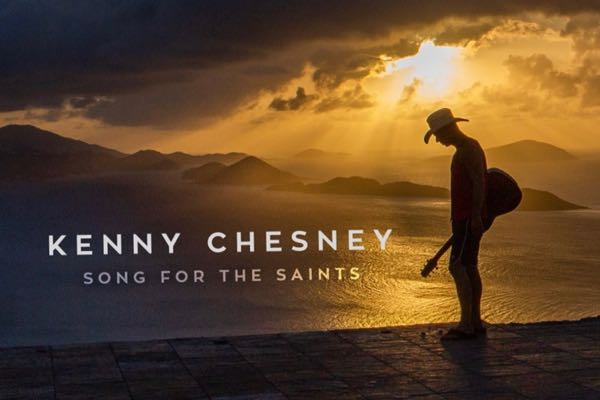 Kenny Chesney on St. John after hurricanes Irma and Maria. Image credit: kennychesney.com