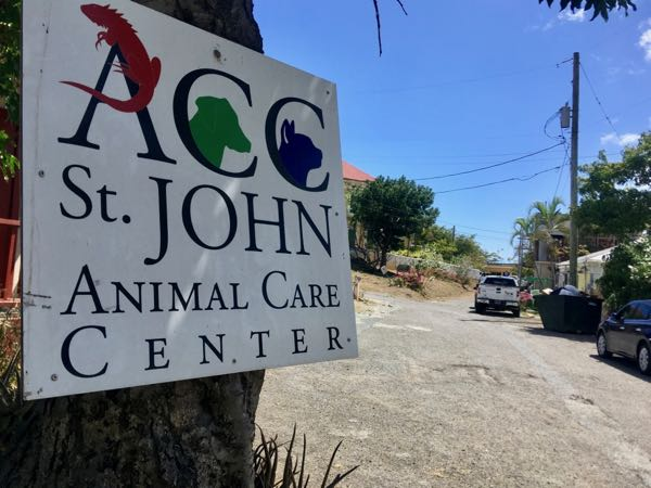 The Animal Care Center is one of our most important organizations here on St. John (in my opinion). :)