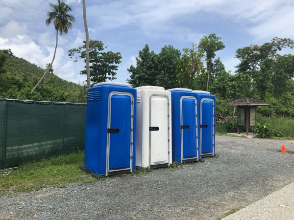 Portable Restrooms Cinnamon August 2019