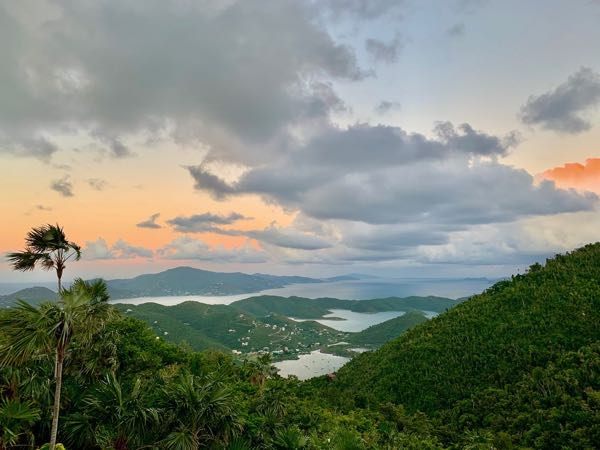 St. John Webcams: New Cam Over Coral Bay 1