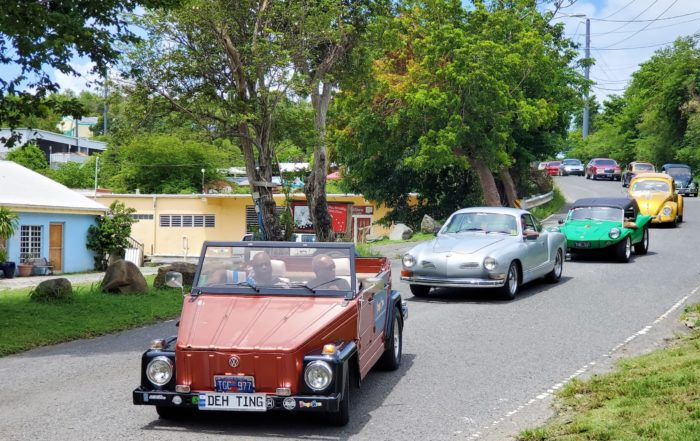 Drive Out Event Brings Classic Cars to St. John