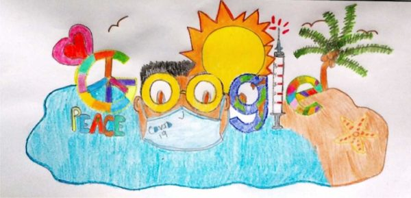 St. Croix Fourth Grader Ranks High in Doodle for Google Contest 2